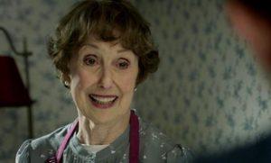 Умерла миссис Хадсон из телевизионного сериала «Шерлок»